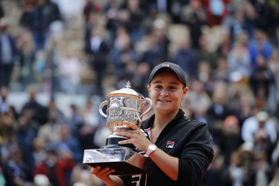 Австралійська тенісистка стала переможницею Roland Garros-2019