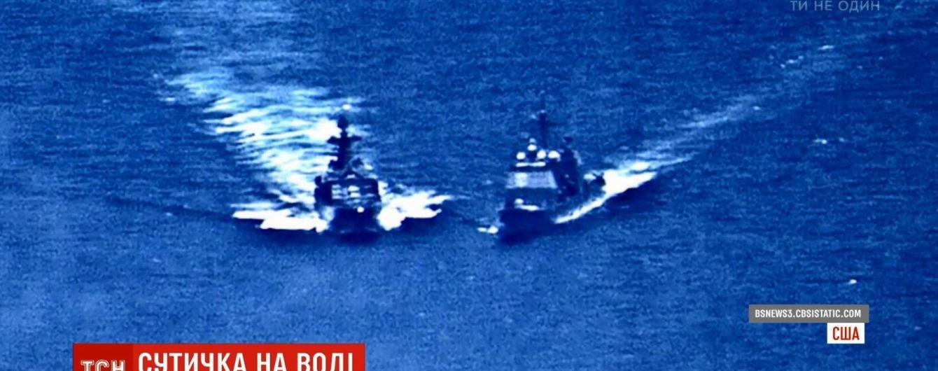 Американцы обнародовали доказательства бессмысленного маневра корабля РФ в Филиппинском море