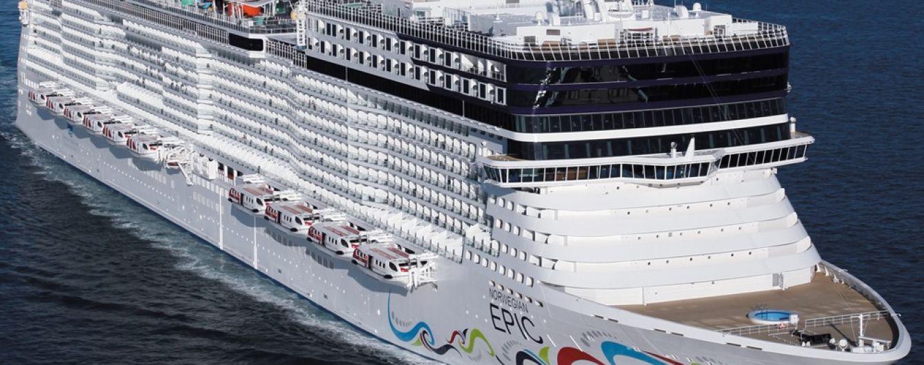 В Средиземном море ищут американскую туристку, которая вероятно выпала с круизного лайнера
