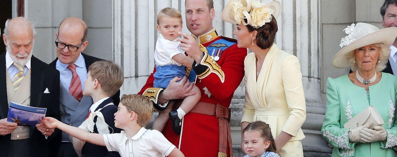 Принц Вільям та Кейт вперше з молодшим сином відвідали урочистий захід