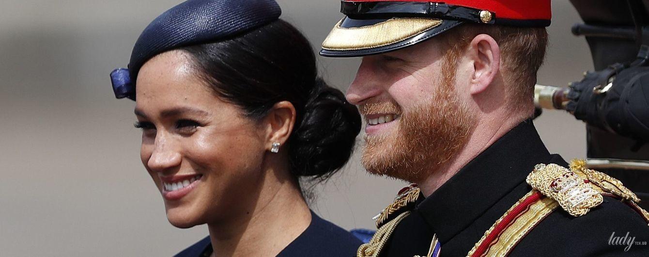 Вышла в свет после родов: герцогиня Сассекская посетила торжественный парад в честь дня рождения королевы Елизаветы II
