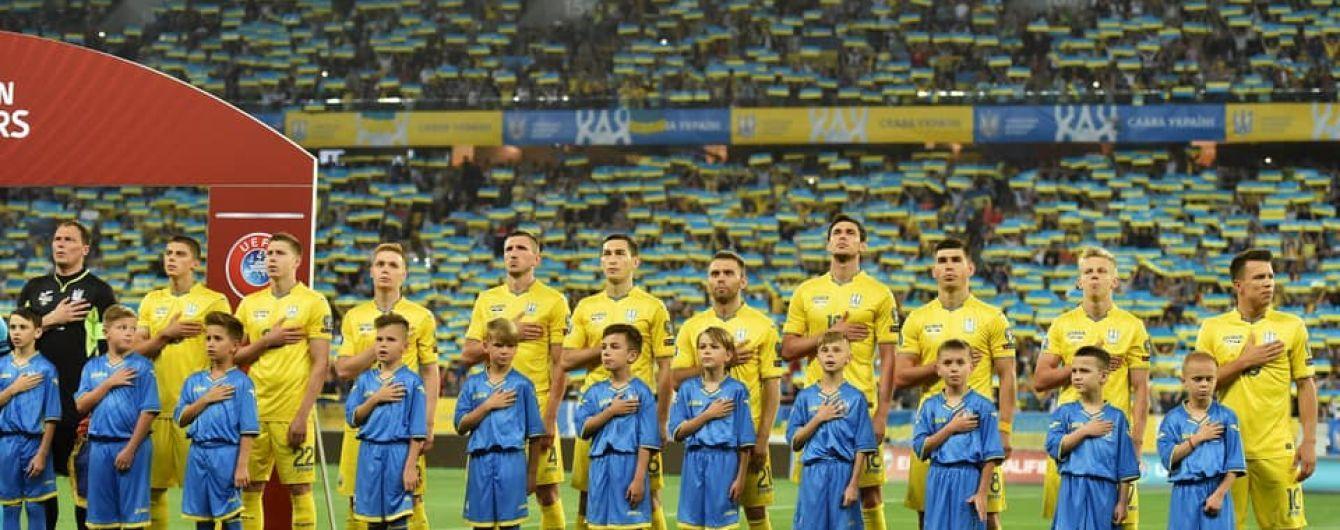 Україна проведе товариські матчі з Францією та Польщею