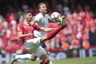 """Англія перемогла Швейцарію по пенальті і виграла """"бронзу"""" Ліги націй"""