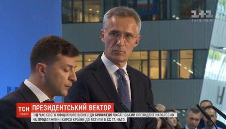 3 неделя президентства: зарубежный визит Зеленского, минские заявления и курс Украины