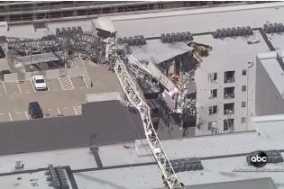 В Далласе кран упал на жилой комплекс: 1 человек погиб, 6 раненых