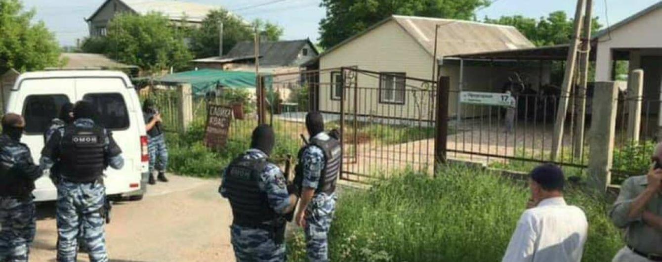 Оккупанты устроили массовые обыски у крымских татар