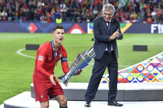Роналду став найкращим бомбардиром фінального турніру Ліги націй