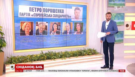 Парламентские выборы: какие лица можно узнать в обнародованных списках - влог Сніданкка
