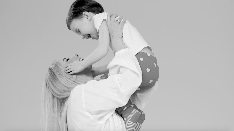 Тоня Матвієнко з донькою