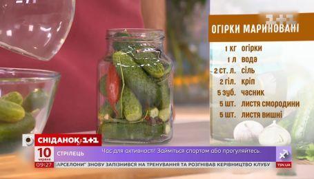 Егор Гордеев испытал эксклюзивный рецепт маринованных огурцов