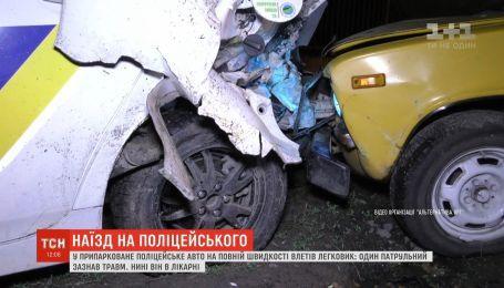 """Полицейский получил тяжелые травмы в результате ДТП """"Приуса"""" и """"Жигулей"""""""