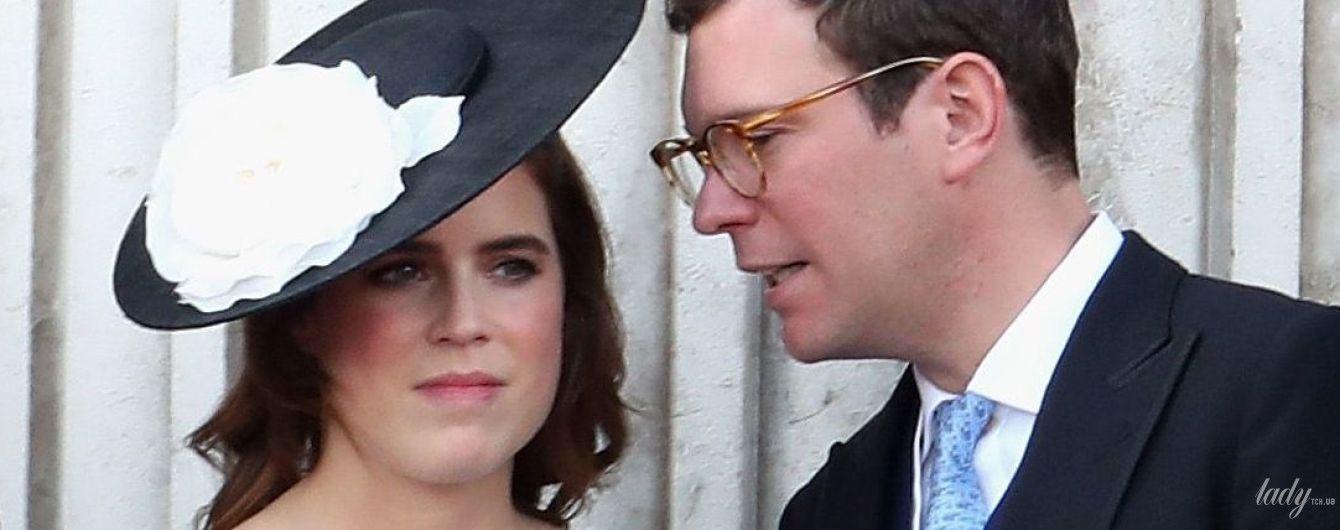В красивом платье и шляпе с цветком: принцесса Евгения на параде