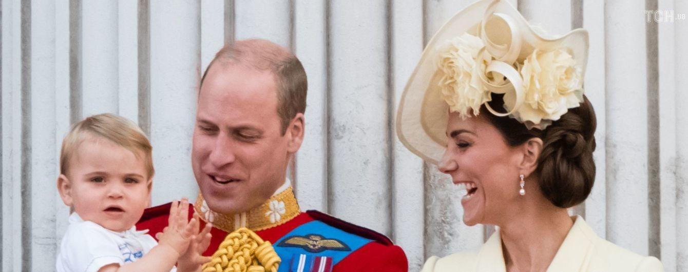 Кейт Миддлтон нарядила сына в костюм принца Гарри 33-летней давности