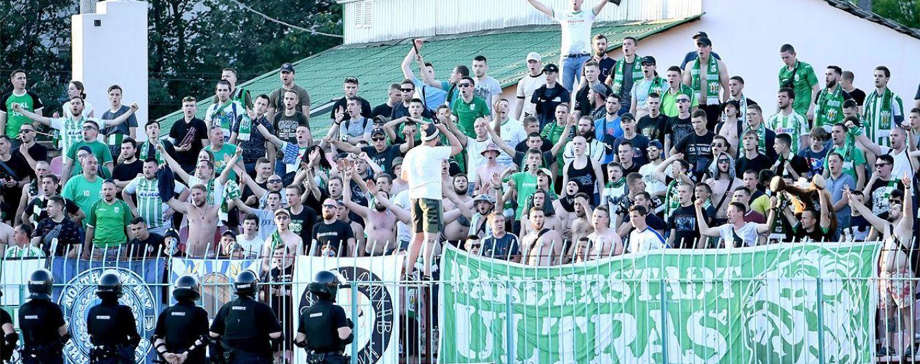 Полиция открыла уголовное дело после футбольного матча в Луцке