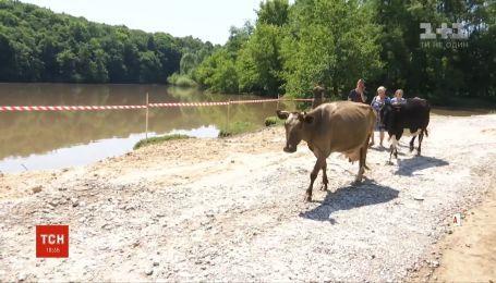 Жители села Збаржевка жалуются на плохое самочувствие в результате отравления химикатами