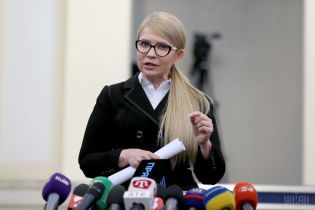 Тимошенко заявила, что ее партия не пойдет в оппозицию к власти