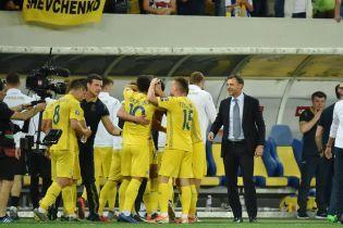 Сборная Украины в сложном матче победила Люксембург и укрепила лидерство в группе