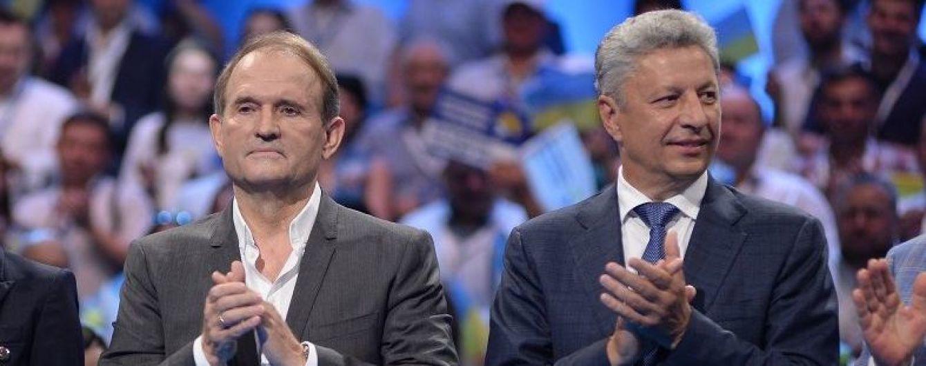 СБУ расследует, почему Медведчук и Бойко летали в Москву