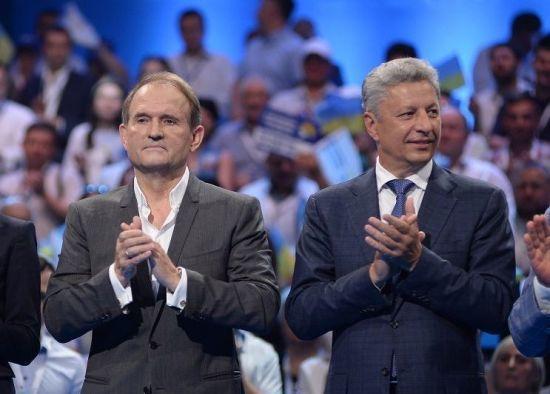 СБУ розслідує, чому Медведчук та Бойко літали до Москви
