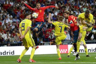 Іспанія розбила шведів у кваліфікації до Євро-2020