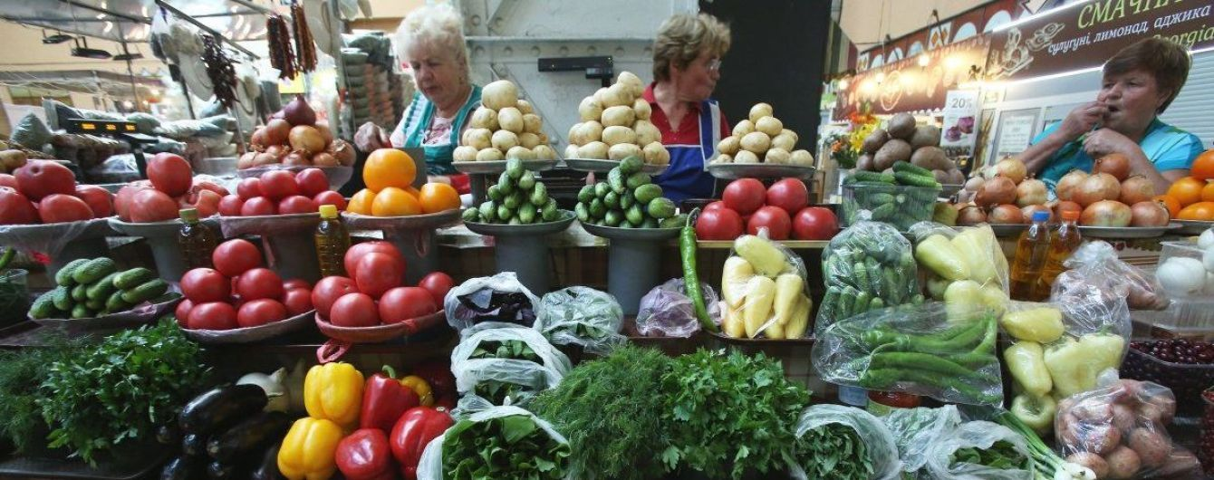 В Україні зросла інфляція. Овочі за рік здорожчали в півтора раза