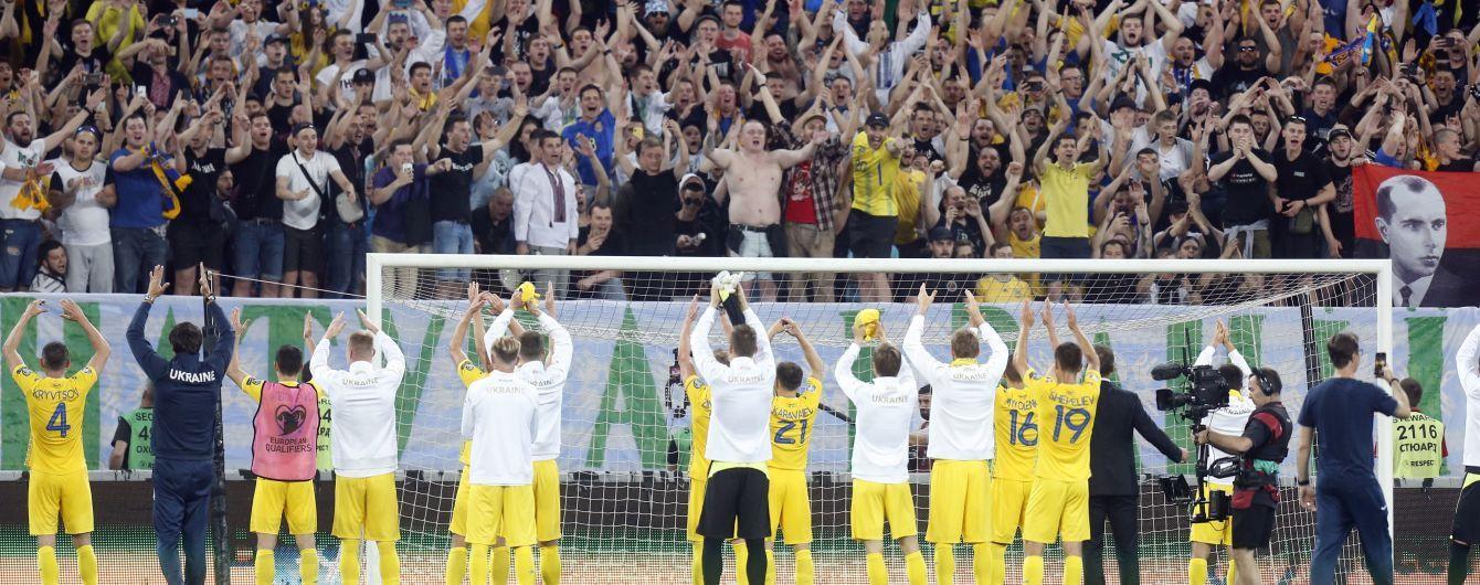Фартовость Львова зашкаливает. Сборная Украины одержала 16 победу в городе Льва