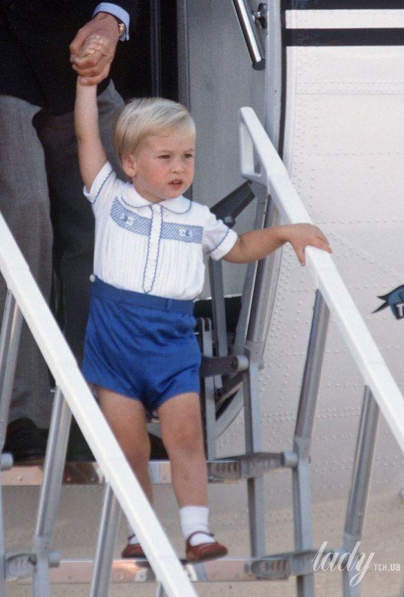 Принц Уильям и его сыновья_1