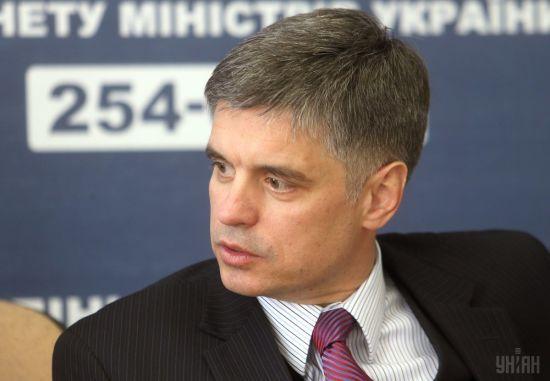 Пристайко заявив про спільну позицію України та Євросоюзу щодо антиросійських санкцій