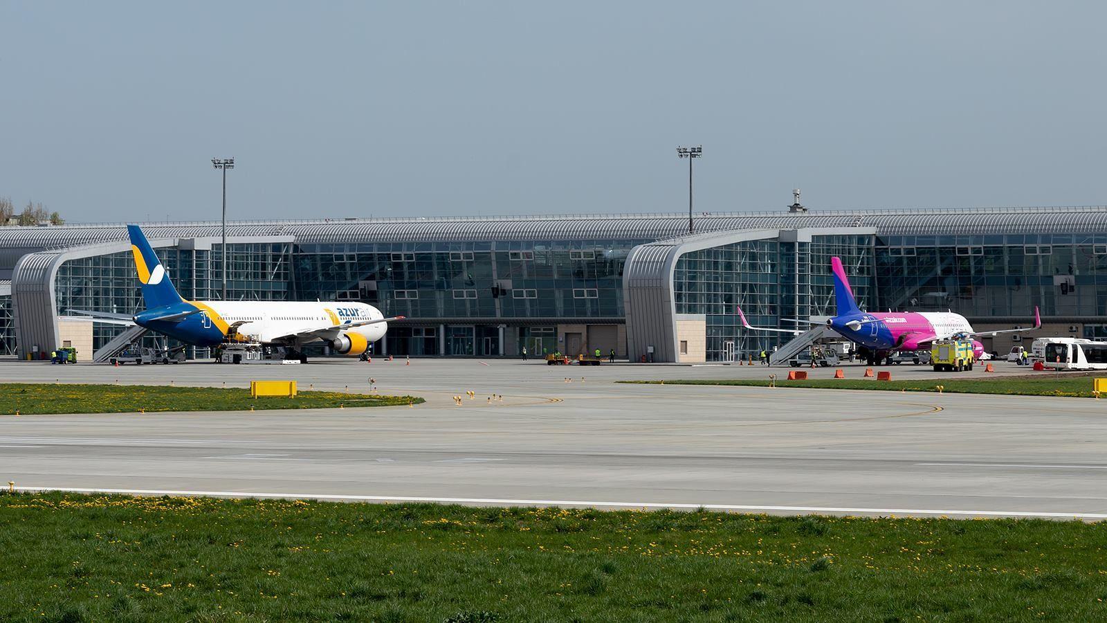 аэропорт Львова Wizz Air