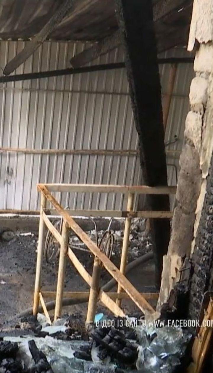 Слідчі з'ясовують причини виникнення пожежі у психлікарні на Одещині