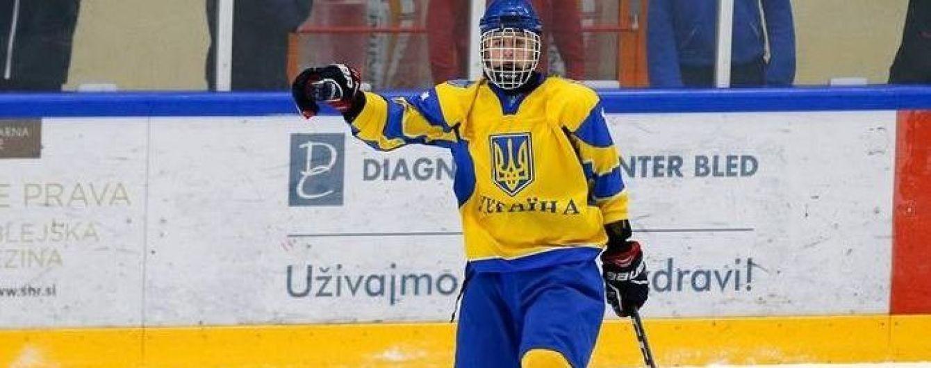 Юная звезда украинского хоккея продолжит карьеру в Канаде