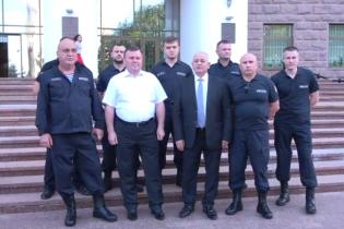 Группа офицеров МВД Молдовы перешла на сторону нового правительства