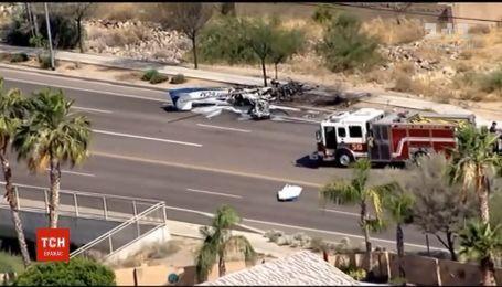 Самолет упал на проезжую часть в американском штате Аризона