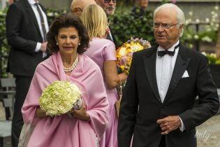 Какая красивая: 75-летняя королева Сильвия приехала на церемонию в роскошном наряде