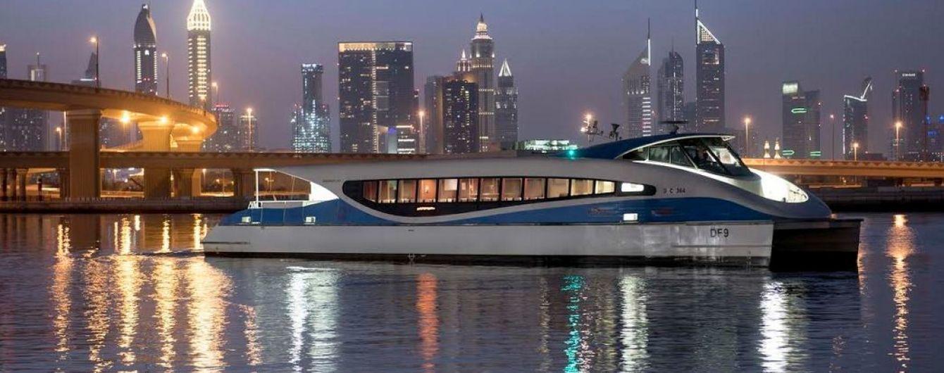 В Дубае запустили водное такси
