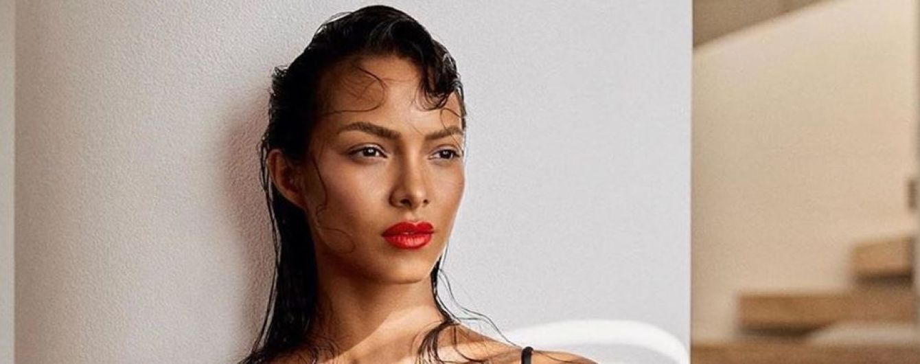"Жара в городе: ""ангел"" Лаис Рибейро в бикини приняла ванну со льдом"