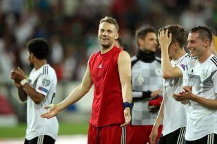 Ноєр побив рекорд збірної Німеччини, який тримався 40 років