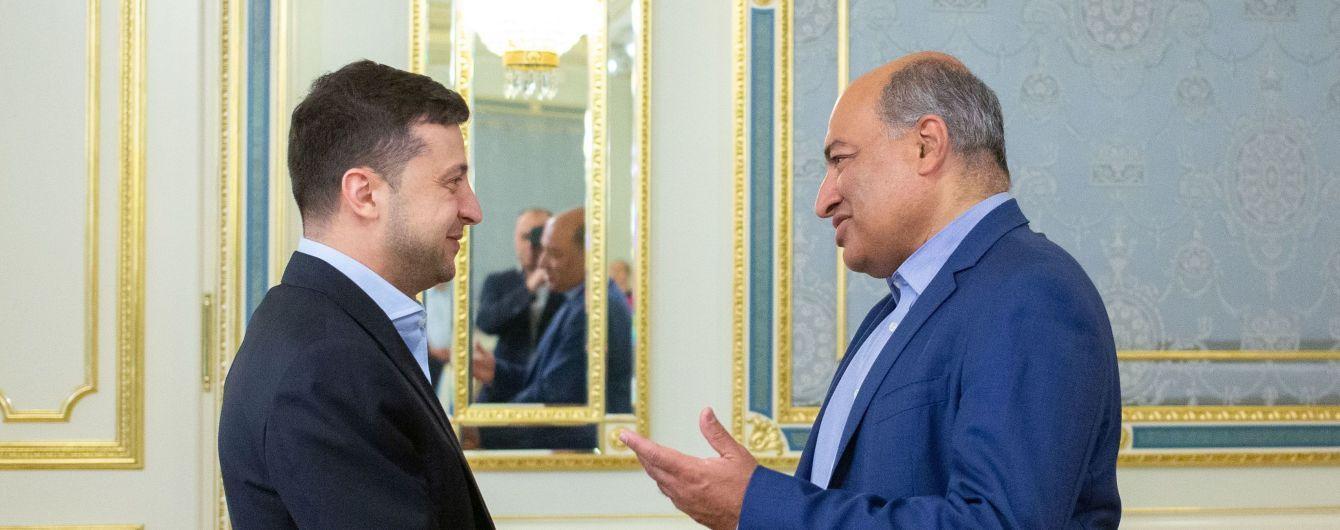 Зеленский встретился с делегацией ЕБРР