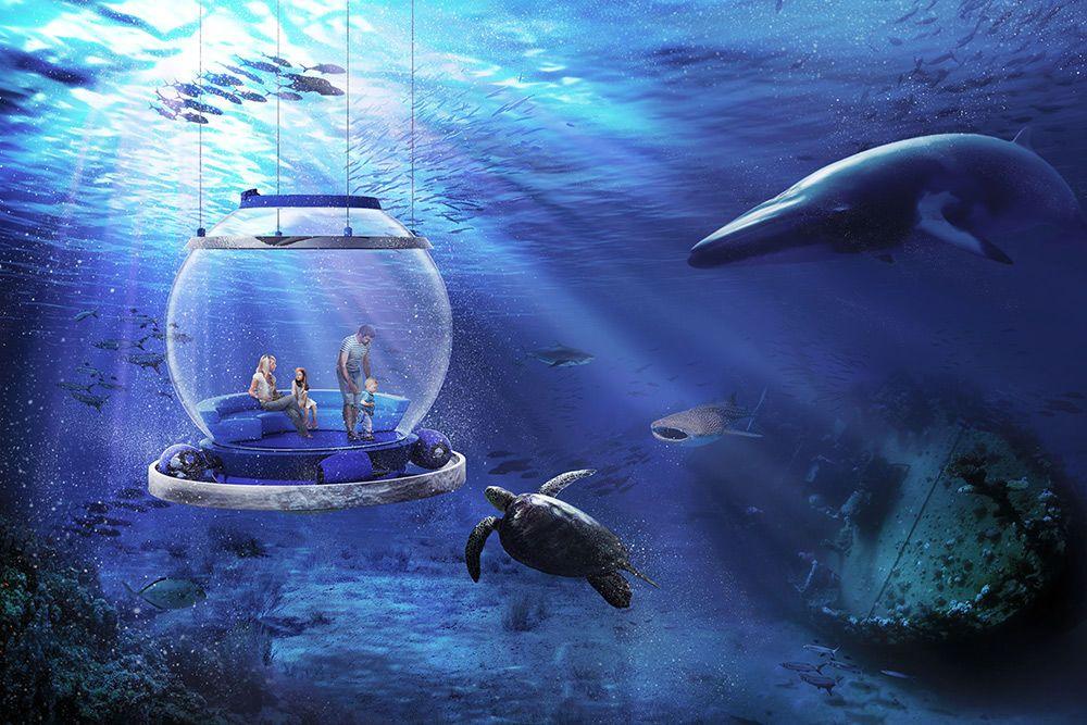 подводная капсула токио