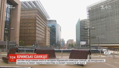 В ЕС продлили санкции против РФ из-за аннексии Крыма