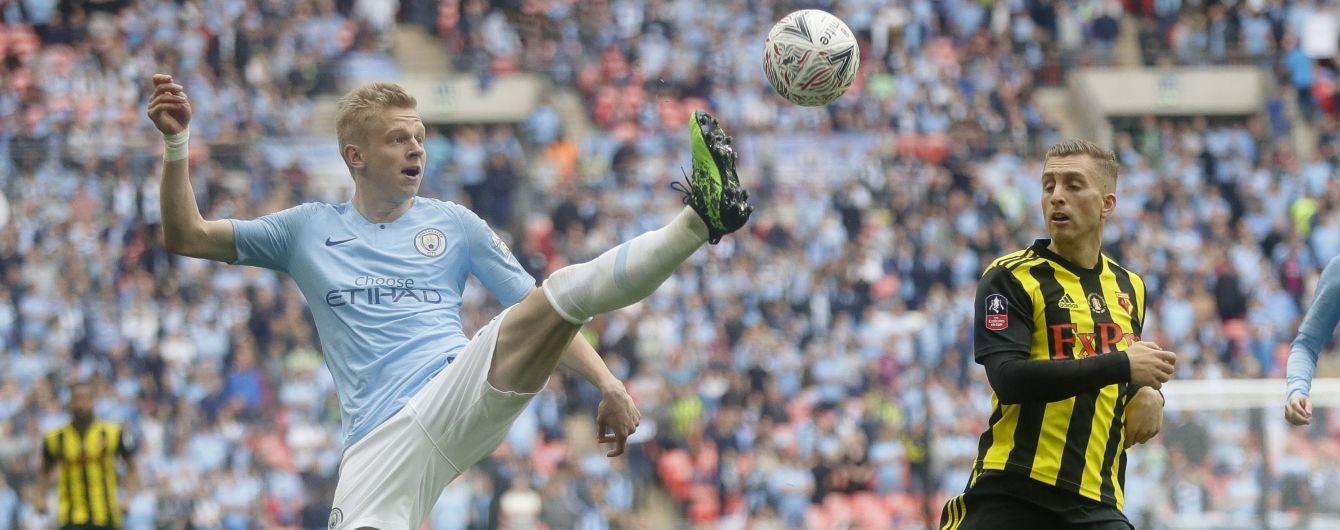 """Зинченко подпишет новый долгосрочный контракт с """"Манчестер Сити"""" - The Telegraph"""