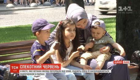 Испытание жарой: как украинцы спасаются от рекордно высокой температуры