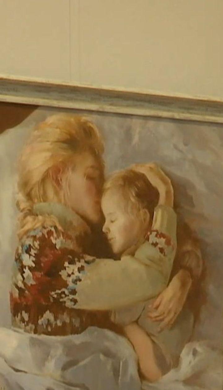 Николаевская художница продает свои картины, чтобы спасти тяжелобольную Катеньку