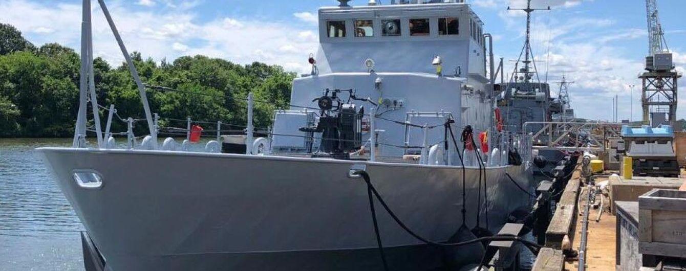 Полученные от США новые украинские катера Island назвали в честь двух городов с Донбасса
