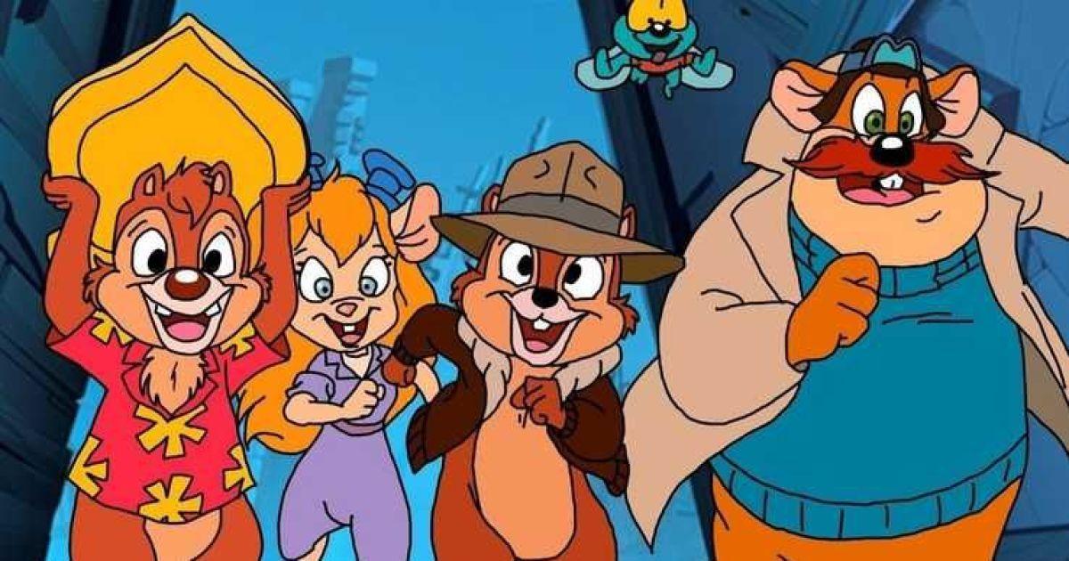 """Disney снимает новые серии культового мультсериала """"Чип и Дейл"""" с кардинально новыми образами героев"""