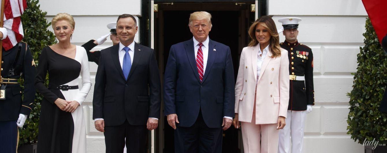 Обе шикарные: яркие образы первых леди США и Польши