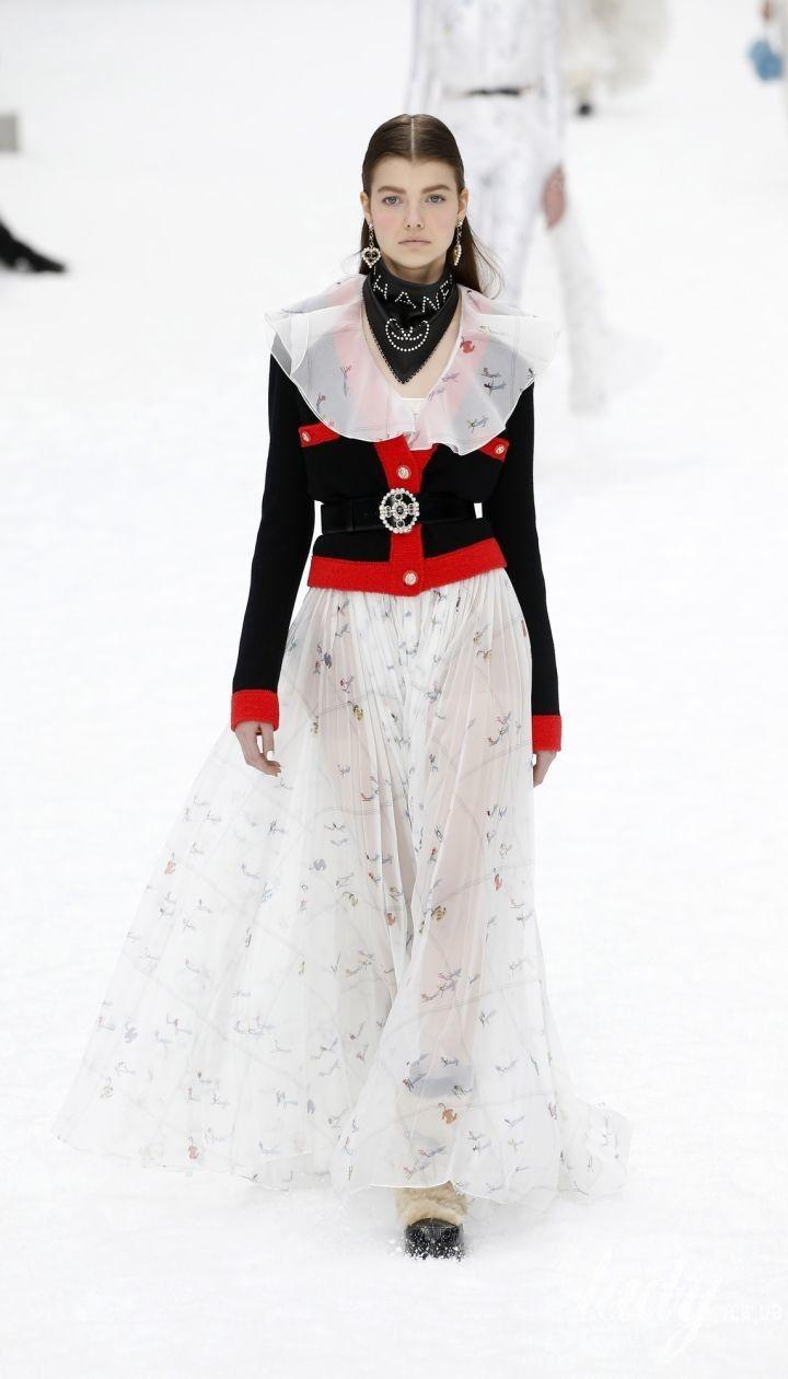 Коллекция Chanel прет-а-порте сезона осень-зима 2019-2020 @ East News