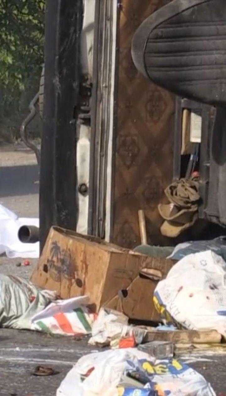 Лопнуло колесо: унаслідок аварії на миколаївській трасі загинув водій