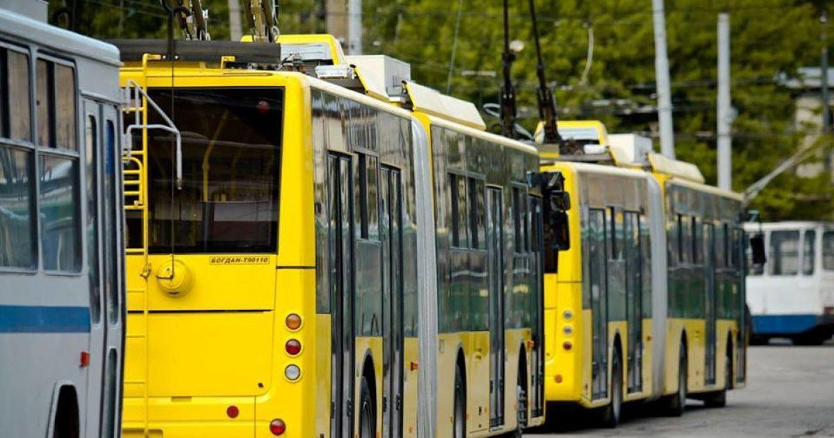 На столичную Троещину пустят новый троллейбус