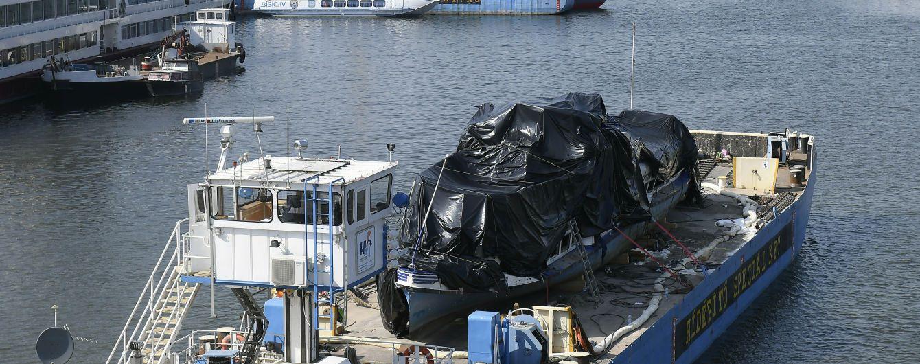 У Дунаї за 110 км від місця кораблетрощі у Будапешті знайшли тіло ще одного загиблого туриста